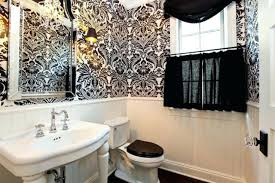 wallpaper in bathroom ideas floral bathroom wallpaper bathroom ideas with white flower