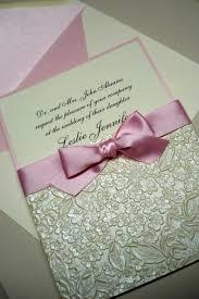 handmade invitations wedding gold embossed paper wrap handmade invitations