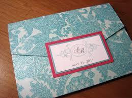 tiffany blue and pink wedding invitation u2013 z card style u2013 a