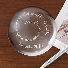personalized paper weight gifts inspirational quotes personalized paperweight