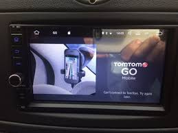 tomtom android can t connect to tomtom try again later error message on the go
