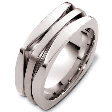 gold square rings images 48259w white gold contemporary square wedding ring jpg