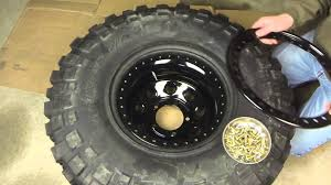 jeep beadlock wheels how to mount a beadlock wheel youtube