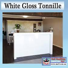 White Gloss Reception Desk Reception Counter White Gloss Nice Design A Modern Office
