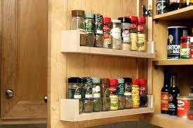 cabinet door mounted spice rack door spice rack spice rack on cupboard door pantry door spice rack