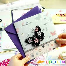 free shipping new 3d series gift card greeting card with