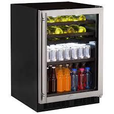 beverage cooler glass door beverage centers beverage coolers marvel refrigeration