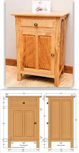 Woodworking Plans Bedside Table Free by Shaker Dresser Project Free Woodworking Plans Project Free And