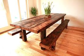 Benches For Kitchen Table Bench Great Way To Have The Luxury Or Table Seating With