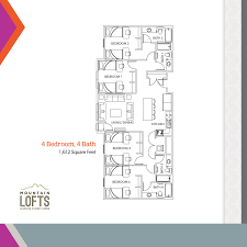 floor plans mountain lofts