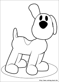pocoyo coloring pages coloring book