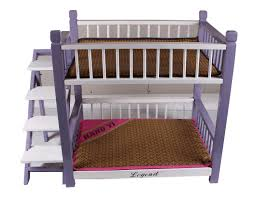 Bunk Bed For Dogs Wooden Pet Cat Deck Bunk Bed Hut Cage Kennel Doghouse