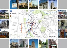 Boston Walking Map by Cambridge Maps Top Tourist Attractions Free Printable City