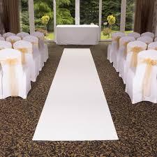 white aisle runner eliza white wedding aisle vip event carpet runner at carpet runners uk