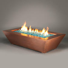 how to make a fire glass pit fire pits