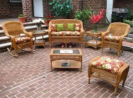 Rattan Patio Table Wicker Golden Honey Bel Aire Outdoor Wicker Patio Furniture