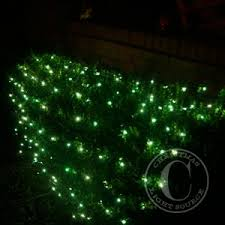 creative ideas net christmas lights warm white led on wire