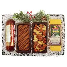 Wisconsin Gift Baskets Cheese U0026 Sausage Assortment Gift Baskets Northern Harvest Gift