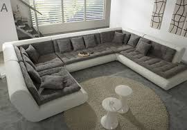 sofa u marvelous u shaped leather sectional sofa 2902 furniture best