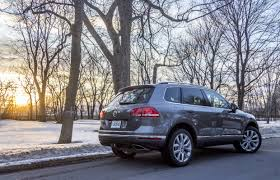 suv review 2015 volkswagen touareg tdi driving