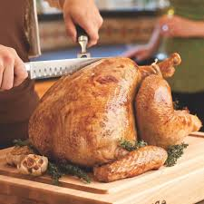 herb turkey recipes thanksgiving herb roasted turkey recipe eatingwell