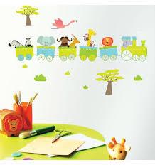 stickers savane chambre bébé stickers enfant stickers chambre enfant