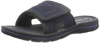 rockport get your kicks sandals velcro slide men u0027s open toe blue