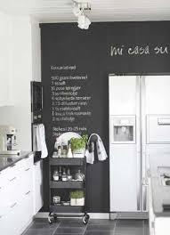 tableau noir cuisine cuisine blanche sol noir 3 peinture tableau noir pour