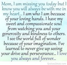 Love My Mom Meme - missing mom quotes best thinking of you meme images on my life quote