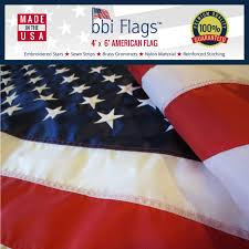 Flags Made In Usa American Flag Made In The Usa Various Sizes Best Quality