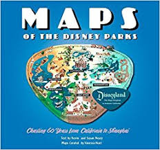 parks map maps of the disney parks charting 60 years from california to