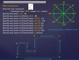 intro to coordinates autocad tips