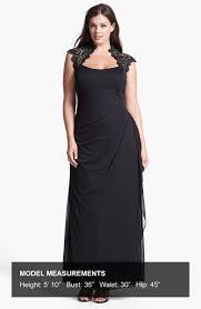 xscape cap sleeve lace dress turmec xscape dress cap sleeve lace