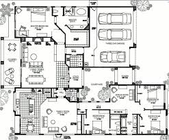 One Story House Plans With 4 Bedrooms Single Story House Plans With 4 Bedrooms