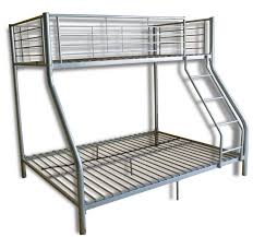 Bunk Beds  Wood Futon Bunk Bed Twin Over Full Bunk Bed White Loft - White futon bunk bed