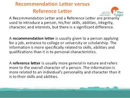 ideas collection letter recommendation character integrity about
