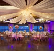 wedding ceiling draping decorating ceiling