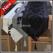 fabric for table runners wedding decorating fabric simple style table runner with tassels table