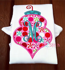 ornament applique the itch 2 stitch