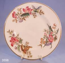 Vintage China Patterns by Asia Black Wedgwood Florentine Salad Plate All Three Pieces Are