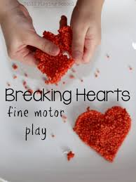 breaking hearts fine motor play still playing