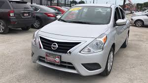nissan versa engine size used one owner 2016 nissan versa sv chicago il western ave nissan