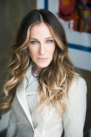 hair highlighted in front sarah jessica parker brittle hair vacation and sarah jessica parker