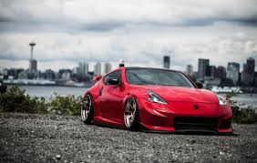 red nissan 350z modified stance argentina stancearg twitter