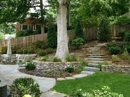 Landscaping Ideas For Sloped Backyard Landscaping Ideas For A Sloped Backyard U2013 Erikhansen Info