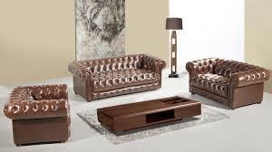 canapé chesterfield cuir vintage salon vivaldi cuir bycast canapés 3 et 2 places fauteuil