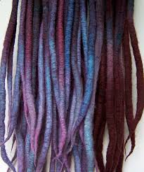 How To Dread Hair Extensions by Hair Extensions Cyberlox Dreadfalls Fringe Synthetic Hair