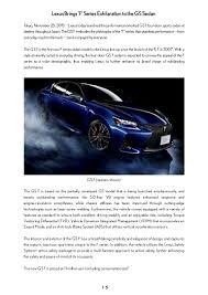 lexus drivers app lexus gs f launched in japan
