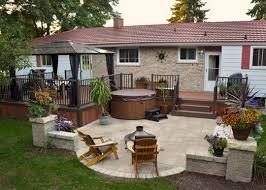 Cheap Backyard Deck Ideas Best 25 Backyard Deck Designs Ideas On Pinterest Decks Gazebo