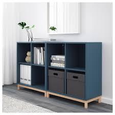 eket storage combination with legs dark gray ikea